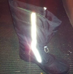 blizzard boot with reflector