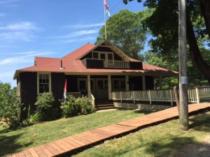 The Community Center  on Great Diamond Island - Elwell Hall