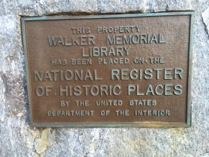 There's such a sense of history in the Gathering Room at Walker Memorial Library