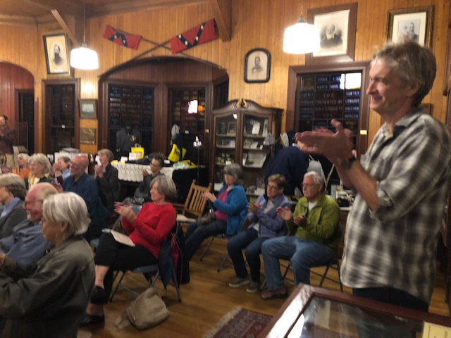 It was great to see so many friends on Peaks at the beautiful Fifth Maine. Thanks to Bill and Nancy Hall, who manage the historic treasure, for making it available for this event.